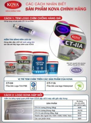 Sơn chống thấm Kova CT11A mua ở đâu giá rẻ ??