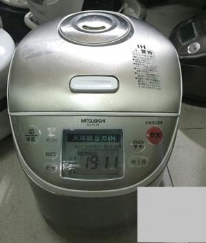 Nồi cơm điện nội địa Nhật Mitsubishi 1.8LIT NJ-TE18 có áp suất