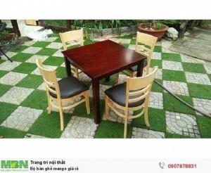 Bộ bàn ghế mango giá rẻ