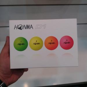 Banh Golf Honma D1 Colors 2019