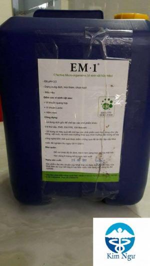 Công ty Kim Ngư phân phối EM 1