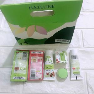 Bộ mỹ phẩm du lịch cho nữ Hazeline