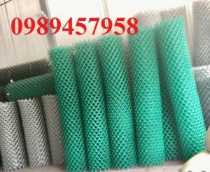 Sản xuất Lưới b40 bọc nhựa và mạ kẽm khổ 2m,...
