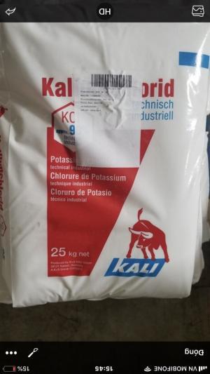 Công ty Kim Ngư phân phối khoáng KCl nguyên liệu