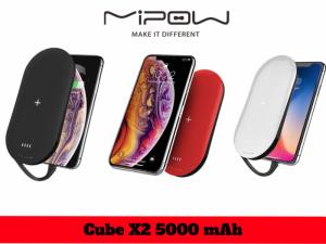 Sạc Dự Phòng Kiêm Sạc Không Dây Mipow Power Cube X2 Chuẩn Apple