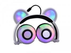Tai nghe gấu phát sáng có Bluetooth cao cấp