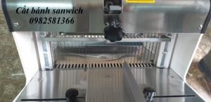 Máy cắt bánh mỳ sanwich, máy cắt lát bánh mỳ gối