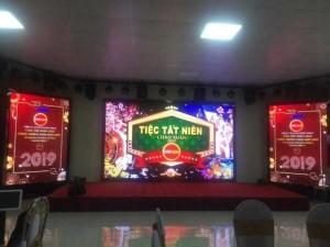 Thi công màn hình P4 tại tập đoàn Synot Asean