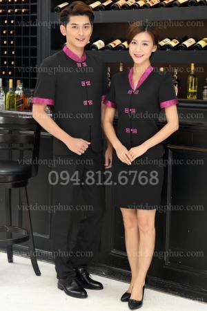 Xưởng May đồng phục Nhà hàng đẹp, chuyên nghiệp