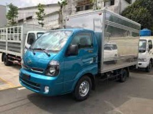 Xe tải Thaco Kia K200, tải trọng 1T9 mới 2018, tiêu chuẩn khí thải euro 4, xe tải kia tây ninh, xe tải gò dầu