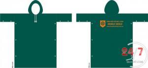 Áo mưa in logo công ty làm quà tặng quảng cáo