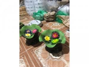 Bát sen thả hoa cực xinh size 24cm