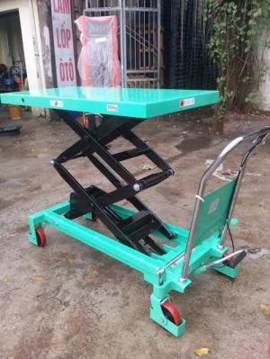 Xe nâng bàn TT800, xe nâng bàn 800kg cao 1.5 mét giá rẻ, xe nâng cây cảnh