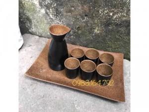 Bộ bình rượu sake phong cách Nhật Bản