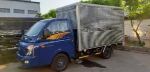 Giá Xe Tải Hyundai Porter H150 1.5 Tấn Thùng Kín , Hỗ Trợ Vay 80%