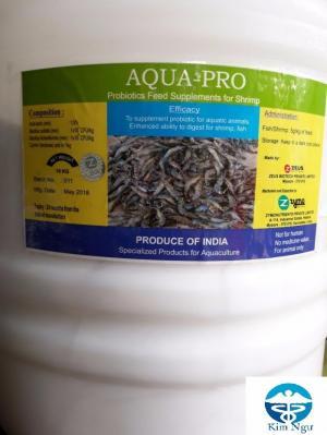 Công ty Kim Ngư phân phối men Aqua Pro