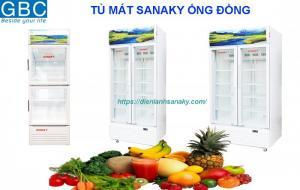 Tủ mát Sanaky 2 cánh dàn lạnh ống đồng