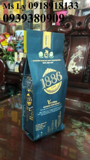 In bao bì cà phê giấy kraft đẹp, uy tín, chất lượng ,giá rẻ nhất tphcm