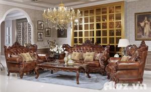 Sofa tân cổ điển giá rẻ Vũng Tàu Bình Dương