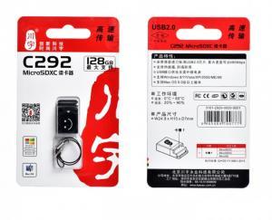 Đọc Thẻ Nhớ Mini KAWAU C292 Dây Đeo Thời Trang