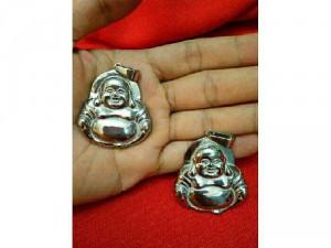 Phật di lặc inox