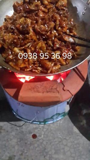 Mực rim sa tế tỏi ớt - mực rim me ngon - mực rim sate tỏi ớt
