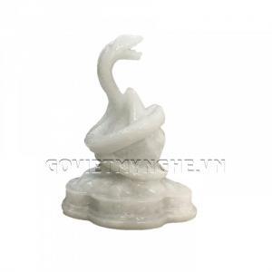Tượng Đá Trang Trí Rắn Phong Thủy - Đá Non Nước