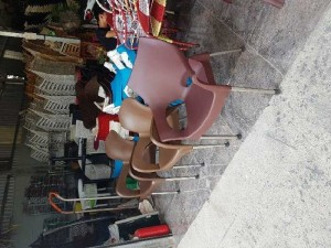 Bàn ghế nhựa cafe trực tiếp sản xuất