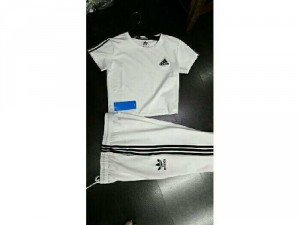 Set Adidas  Áo Croptop + Quần Ống Bó