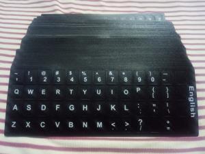 Miếng dán phím chữ ngôn ngữ Tiếng Anh (chuẩn US)