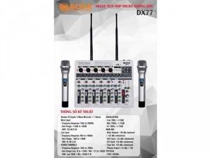 Mixer Karaoke Mini Bosa DX77 Effect Rất Hay