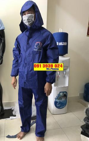 Công ty làm áo mưa quảng cáo, áo mưa cánh dơi in logo theo yêu cầu
