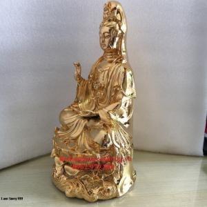 tượng đồng mạ vàng 24k