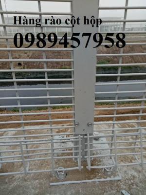 Sản xuất hàng rào cột trái đào, hàng rào cột hộp