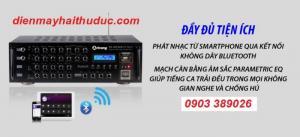 Amply Bluetooth Arirang PA-203 ECO giảm giá đến 10%