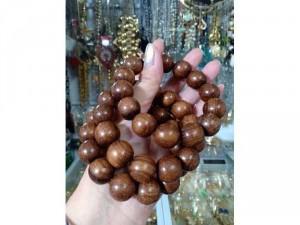 Vòng gỗ dâu rừng cao cấp 16 mm