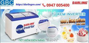Tủ Kem Darling DMF - 4079 Aski