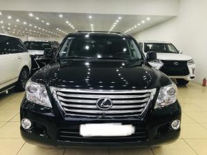 Bán Lexus LX570 nhập mỹ,sản xuất 2010,màu đen ,xe siêu đẹp,biển Hà Nội