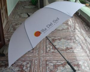 Brandde-Ô, dù cầm tay in logo quảng cáo giá rẻ