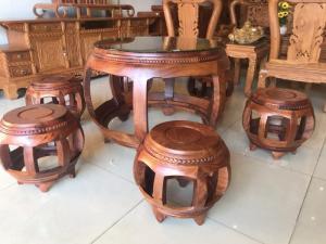 Bộ bàn ghế kiểu trống hàng thiết kế mới tại Tiền Giang