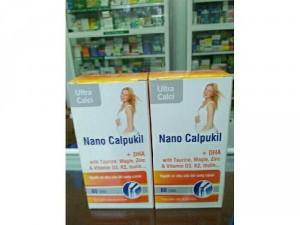 Nano Calpukil- Bổ sung canxi.