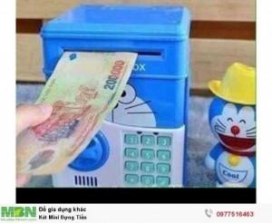 Két Mini Đựng Tiền sử dụng mật khẩu để mở khoá an toàn