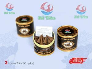 Combo 3 lon nụ trầm hương Tiên Phước, Quảng Nam