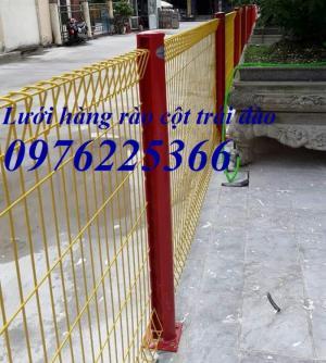 Hàng rào mạ kẽm, hàng rào bẻ tam giác hai đầu