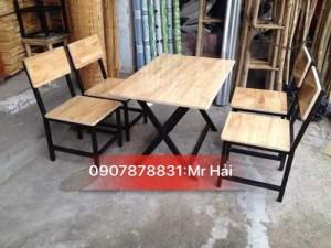 Bộ bàn ghế gỗ sắt