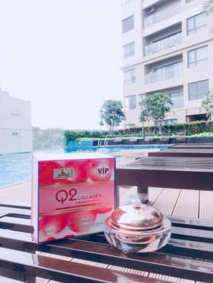 Kem dưỡng trắng da Q2 COLLAGEN VIP