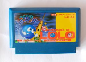 Băng Famicom Adventure Of Lolo