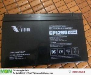 Ác Qui VISION 12V9AH Việt nam chất lượng cao