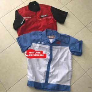 Địa chỉ bán đồng phục sửa xe máy giá rẻ tại tphcm, cung cấp đồng phục sửa xe hãng honda, hãng yamaha