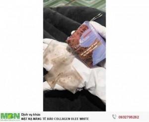Mặt Nạ Màng Tế Bào Collagen Olee White( tặng kèm serum vàng 24k)
